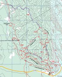 Death Valley Map Pine Ridge To Death Valley Sheep River Kananaskis Country