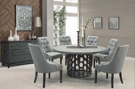 7 pc round dining table set insurserviceonline com source 7 piece armen living centennial round dining set usa furniture