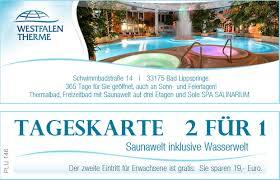 Therme Bad Rothenfelde Kultur Freizeit Und Erholung U2013 City Schecks