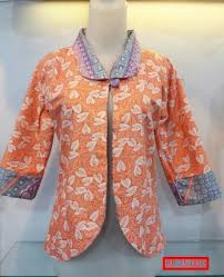 blazer wanita muslimah modern 7 model baju batik wanita blazer terbaru anggun dan