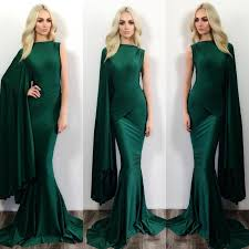 aliexpress com buy long emerald green prom dress cheap high