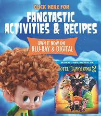 hotel transylvania 2 dvd u0026 free activity sheets