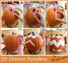 thanksgiving diy decor chevron pumpkins glamourized kid s