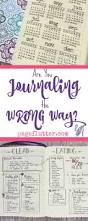 Bullet Journaling by Are You Bullet Journaling The Wrong Way Page Flutter