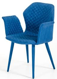 Blue Upholstered Dining Chairs Adamo Blue Upholstered Dining Chair Blue Fabric Dining Chair