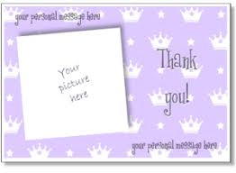 online thank you cards printable photo thank you card templates personalized thank you