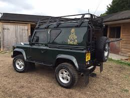 land rover dakar used land rover defender county hard top td5 for sale in