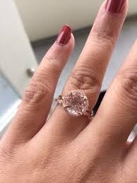 what is morganite real engagement rings morganite