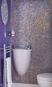 Plum Colored Bathroom Accessories by Gray And Purple Bathroom A Soft Inviting Budget Friendly Bathroom