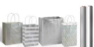 where to buy goodie bags silver gift bags gift wrap party city