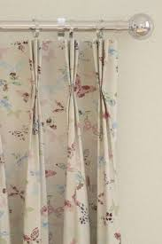 butterfly vintage curtains by prestigious red pink blue