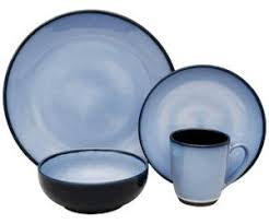 discontinued sango blue dinnerware
