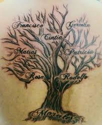 pin cool designs family tree tattoos on tattooed