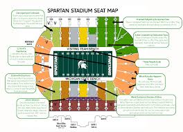 Ucr Campus Map Judgmental Seating Chart Of Spartan Stadiumthe Black Sheep