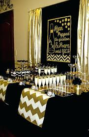 gold party decorations black white and gold decor for party size of themes white and