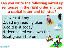 full stops and capital letters by the teaching buddy tpt