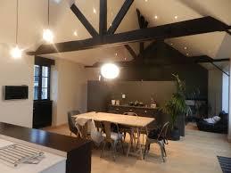 cuisine sol parquet vue sur le séjour salon revêtement de sol parquet bois coloris