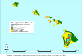 Map Of Hawaii Islands Maps And Figures