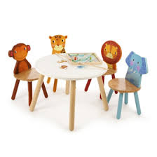 childrens wooden table and chairs john crane wooden safari table 54 00 cottage toys