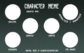 Character Memes - character meme by silberry on deviantart