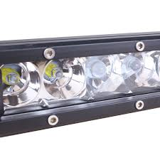 6 inch light bar slimline single row led light bar 9 inch 30 watt combo tuff