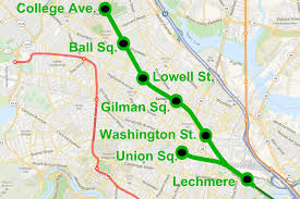 Map Of Mbta by The Tufts Daily