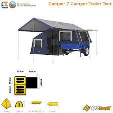 Oztrail Awning Oztrail Camper 7 Camper Trailer Tent Cct 07 F Ebay