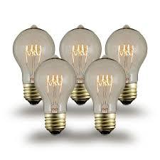 buy 25w a19 vintage edison style filament bulbs novelty lights inc