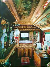 Vardo Interior Steph Ashmore The Working Union Of The Mad Gypsy Wagon