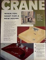 Crane Bathroom Fixtures 1923 Crane Bathroom Fixtures Vintage Ad Ebay Plumbers