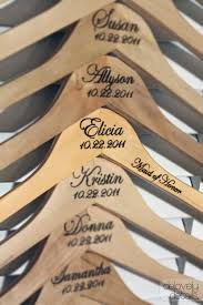 personalized wedding hangers personalized dress hangers for bridesmaids