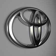toyota logo for sale toyota logo by reticulum 3docean