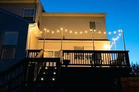 deck string lighting ideas deck string lights string lights on a deck porch string lights ideas