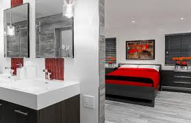 Navy And Green Bathroom Green Orange Navy Bedding Bathroom Contemporary With Red Accents