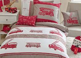 boys doona cover kids new bedrooms pinterest fire trucks