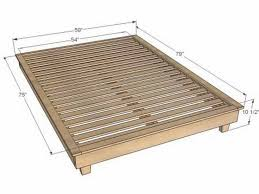 King Bed Frame Heavy Duty Platform Bed Frame King White Bed