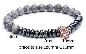 bracelet skull images Titanium steel skull bracelet skulls life jpg
