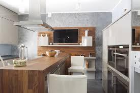 tv in kitchen ideas modern kitchen design with tv interior design ideas