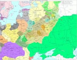 Map Of Eastern Europe And Russia by The History Of Russia