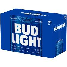 Bud Light Beer 36 Pack 12 Fl Oz Walmart Com