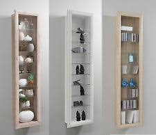 Oak Wall Mounted Display Cabinet Wall Display Cabinets Furniture Ebay