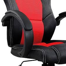 fauteuil siege baquet chaise de bureau sport fauteuil siege baquet et noir régl