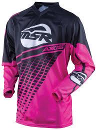 pink motocross gear msr 2016 axxis women u0027s jersey size xs only revzilla