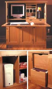 Hideaway Computer Desk Cabinet Hideaway Desk Cupboard Computer Desks For Home Description Solid
