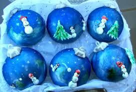 snowman ornament cupcakes all things cupcake