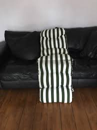 Cushions For Reclining Garden Chairs Brand New Reclining Garden Chair Cushion In Pendlebury