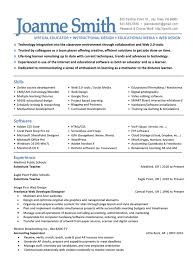 Education For Resume Examples by Education Curriculum Specialist Cover Letter