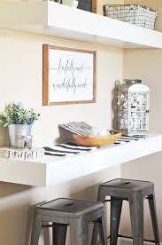dining room shelves farmhouse dining room reveal salt u0026 life blog