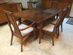 glamorous mid century dining set by american of martinsville at