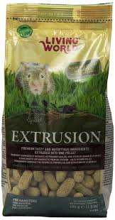 amazon com living world extrusion hamster food 3 3 pound